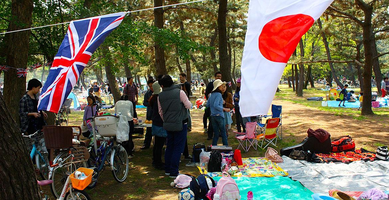 日本とイギリスの融合です。