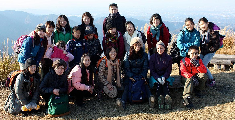 ハイキングは人気のイベント