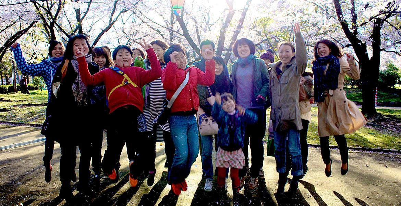 留学や趣味での英語学習など入学されるきっかけは様々ですが、みんな英語を楽しんでいます。