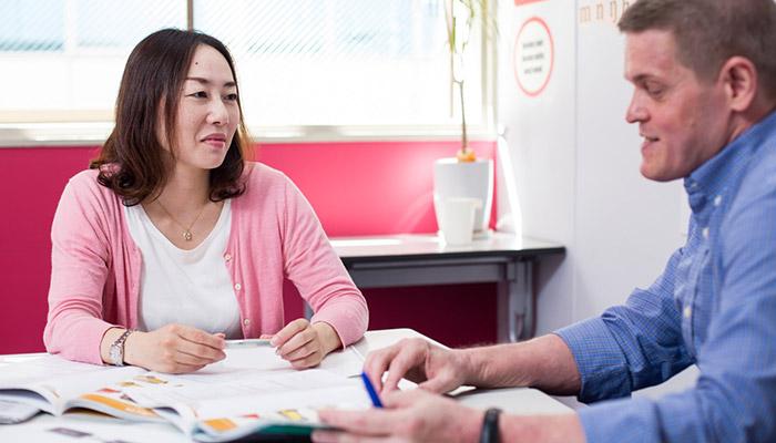 梅田で上級のビジネス英語コースをプライベートで受講