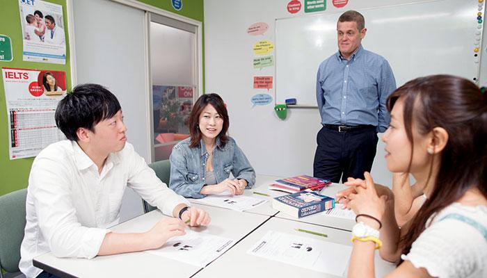 Discussionやpresentationなど留学先で役立つスキルが学べるAcademic Study Skill