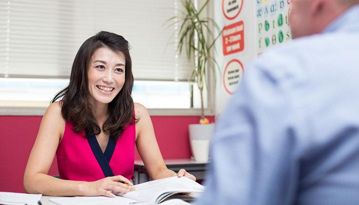 大阪でビジネス英会話をプライベートで受講