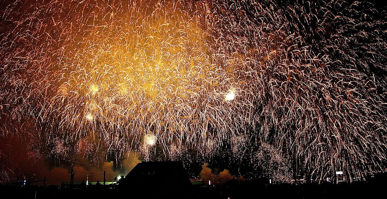 淀川花火の美しさを表現しましょう