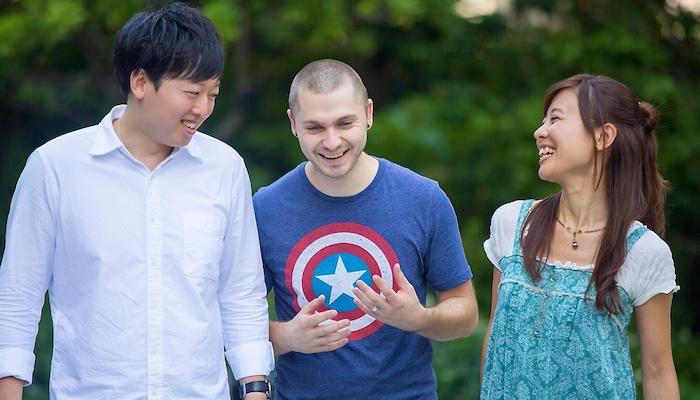 留学を目標とされている生徒さんをサポートするコースも充実