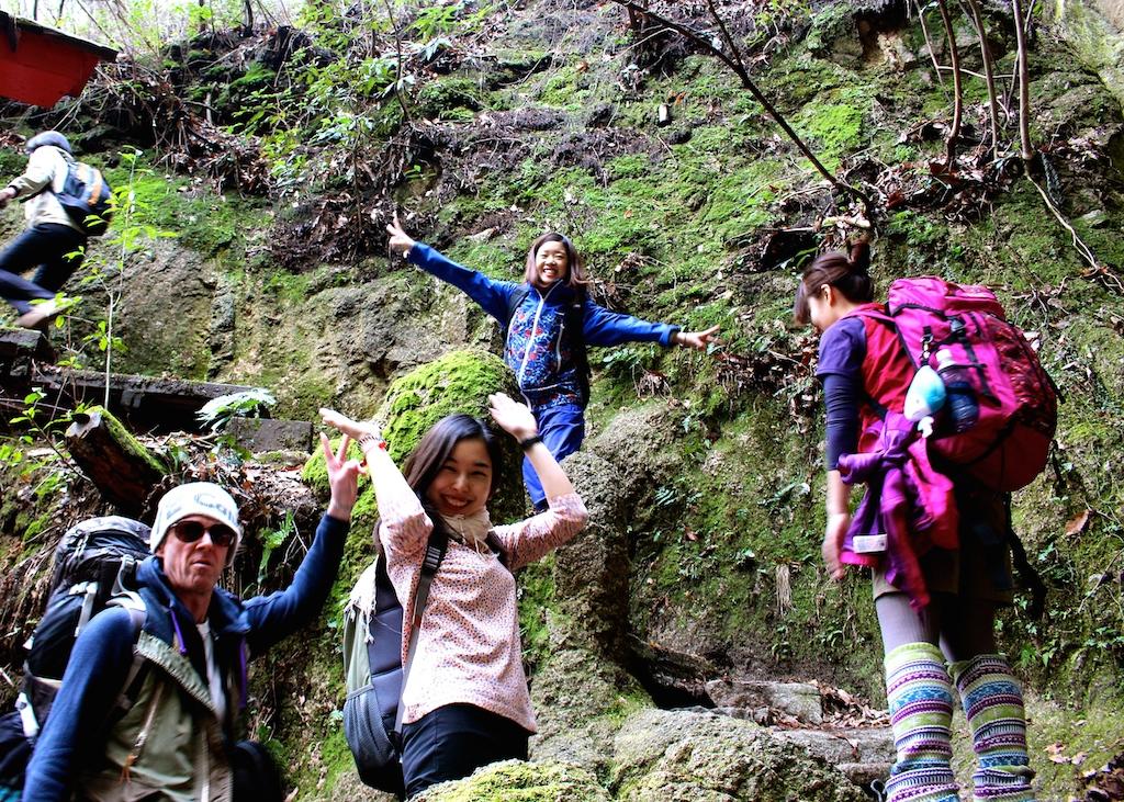 イギリス英語学校で六甲山にハイキング