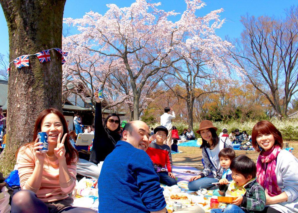 大阪城でお花見満喫しました