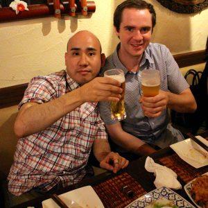 梅田のマレーシア料理でパーティ
