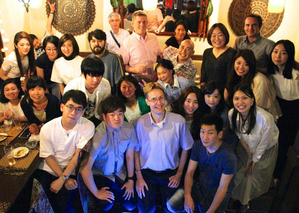 梅田で美味しいマレーシア料理を食べながら英語でトーク
