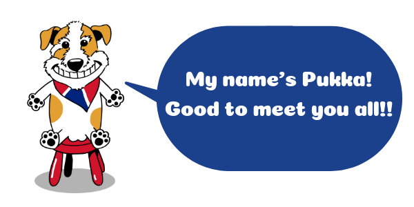 Pukka mascot UKPLUS Osaka 英語スクール